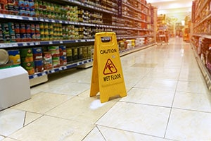 Slip and Falls in Grocery Stores and Supermarkets